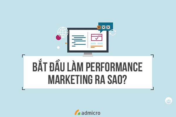 How to start performance marketing?